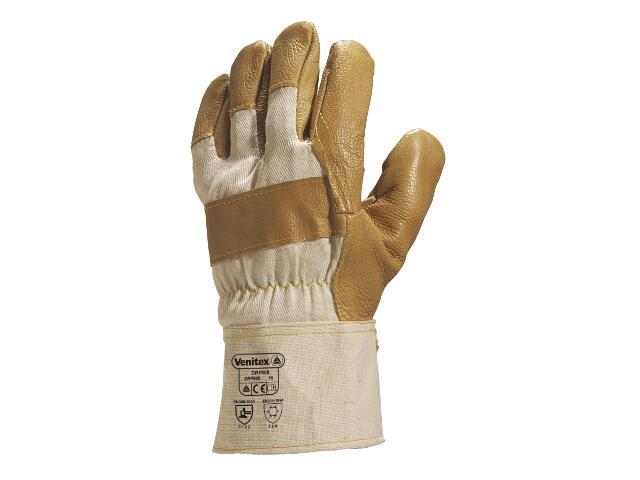 Rękawice wzmacniane typu DOKER ze skóry meblowej DRF605 rozm. 10 Venitex