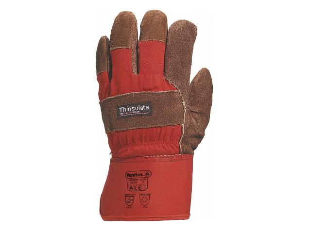 Rękawice wzmacniane typu DOKER z dwoiny bydlęcej DCTHI rozm. 10 Venitex