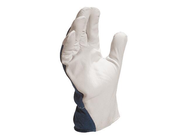 Rękawice wzmacniane z koziej skóry licowej CT402BL rozm. 11 Venitex
