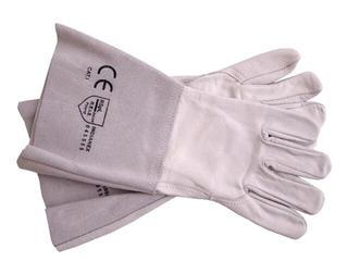 Rękawice wzmacniane skórzane długie 35cm RSPL2XLUX rozm. 11 REIS