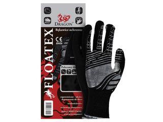 Rękawice powlekane nitrylem i PCV FLOATEX rozm. 8 REIS