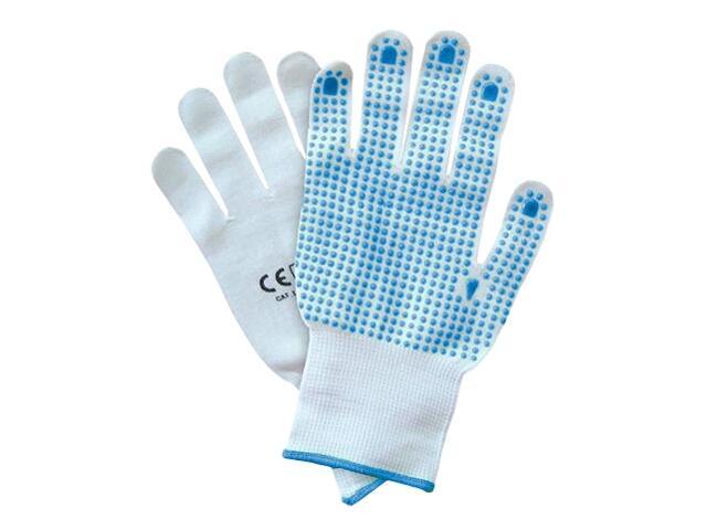 Rękawice powlekane nakrapiane PCV RNYDO-PLUS rozm. 8 REIS