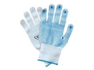 Rękawice powlekane nakrapiane PCV RNYDO-PLUS rozm. 9 REIS