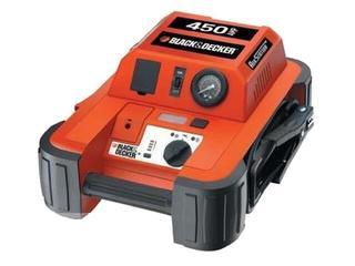 Akumulator rozruchowy 12V/17Ah o prądzie max.450A z kompresorem 8.27bar BDJS450I Black&Decker