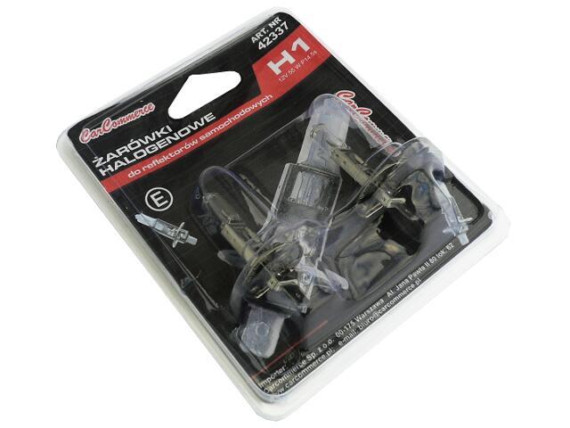 Zestaw żarówek H1 12V 55W 2szt. CarCommerce