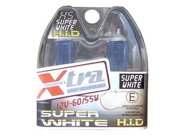 Zestaw żarówek H5 Super White 60/55W Bottari
