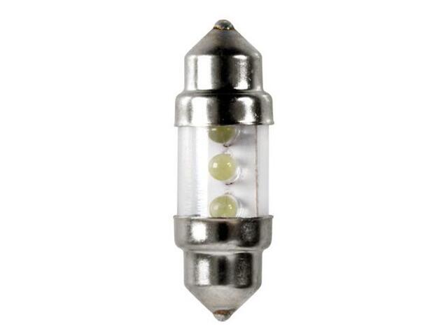 Żarówka LED do oświetlania wnętrza auta FESTO BULBS 31mm 3x LED biały 58384 Pilot
