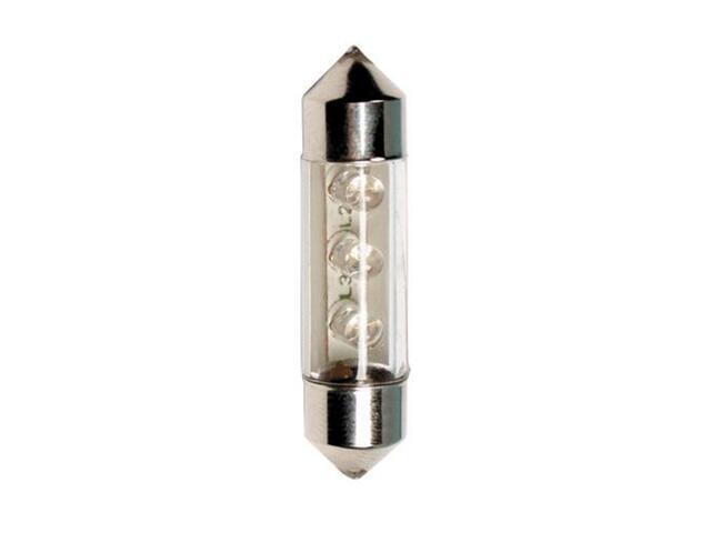 Żarówka LED do oświetlania wnętrza auta FESTON BULBS 36mm 3xLED zielony 58393 Pilot