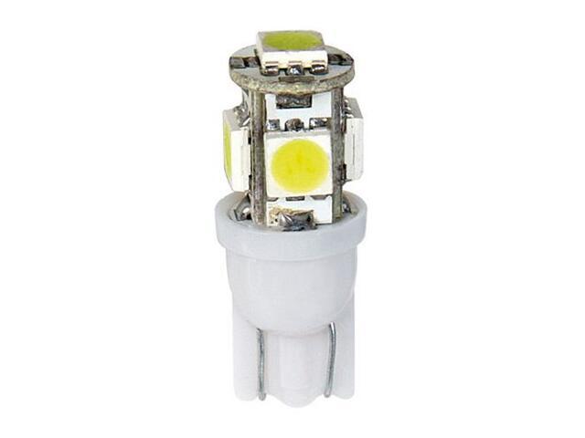 Żarówka HYPER-MICRO-LED do oświetlania wnętrza auta T10 5xSMD 58454 Pilot