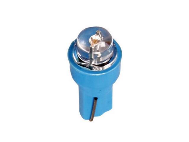 Zestaw żarówek LED do deski rozdzielczej T5 5mm 5szt bordowy 58483 Pilot