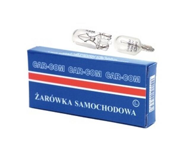 Żarówka całoszklana 12V 5W T10 CarCommerce