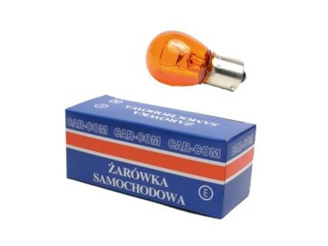 Żarówka pomocnicza i sygnalizacyjna 12V 21W żółta CarCommerce