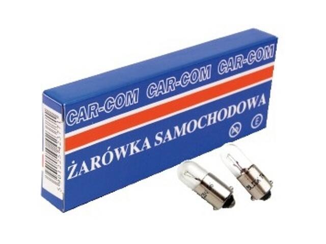 Żarówka pomocnicza i sygnalizacyjna 12V 4W BA9s CarCommerce