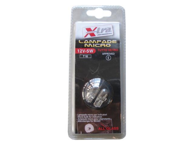 Żarówka samochodowa halogenowa Micro X-Tra 12V-5W+30% Light Xextra