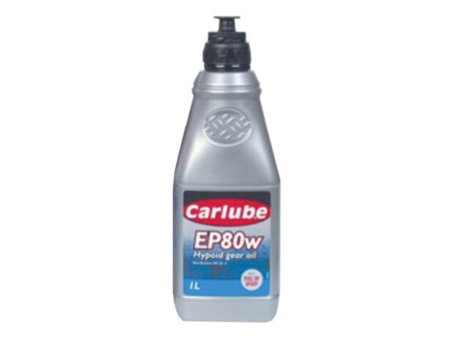 Olej przekładniowy Hypoid EP80W Gear Oil 1l Carlube