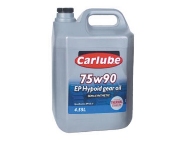 Olej przekładniowy 75W/90 Gear Oil Semi Synthetic 4,55l Carlube