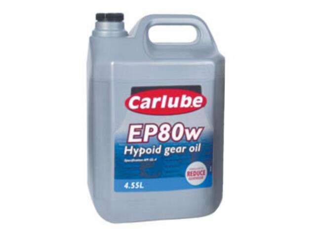 Olej przekładniowy Hypoid EP80W Gear Oil 4,55l Carlube