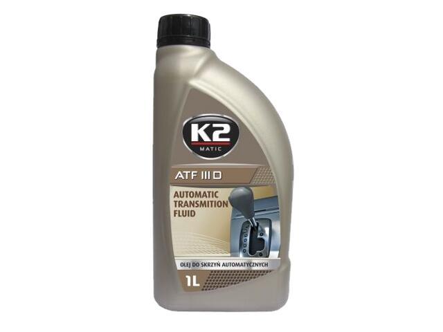 Olej przekładniowy K2 MATIC ATF III D 1l