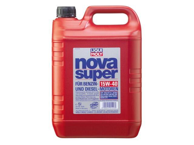 Olej silnikowy mineralny Nova Super Motorol 15W-40 HD 5l 1426 Liqui Moly