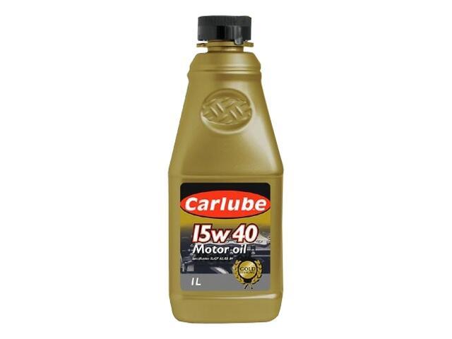 Olej silnikowy mineralny Gold Excel 1l Carlube