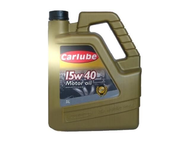 Olej silnikowy mineralny Gold Excel 5l Carlube