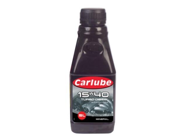 Olej silnikowy mineralny Gold Turbo diesel 1l Carlube