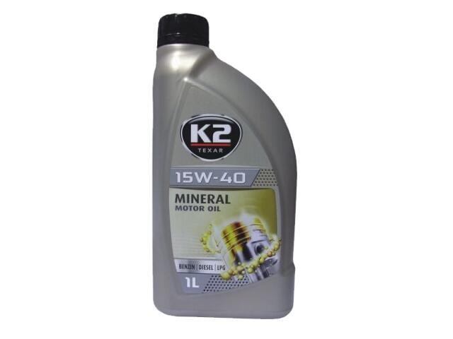 Olej silnikowy mineralny K2 TEXAR BDL 15W-40 1l