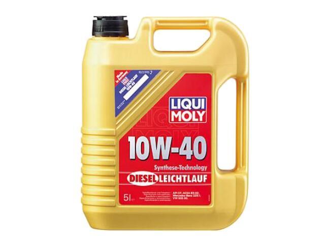 Olej silnikowy półsyntetyczny Diesel Leichtlauf 10W-40 HD 5l 1387 Liqui Moly