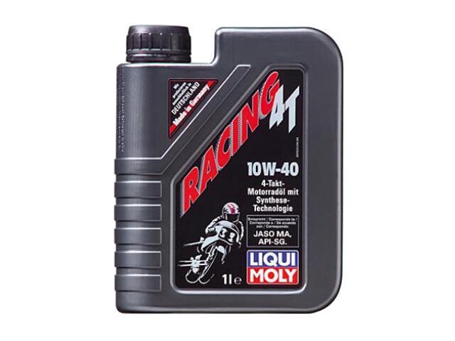 Olej silnikowy półsyntetyczny Racing Teilsynth. 4T 10W-40 1l 2660 Liqui Moly
