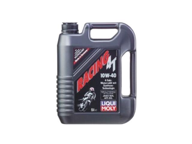 Olej silnikowy półsyntetyczny Racing Teilsynth. 4T 10W-40 5l 1522 Liqui Moly