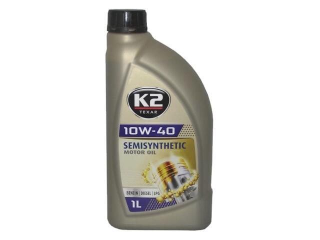 Olej silnikowy półsyntetyczny K2 TEXAR BDL 10W-40 1l