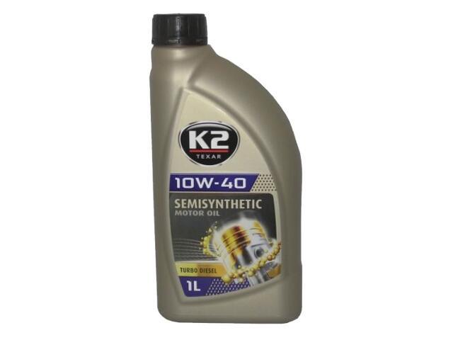 Olej silnikowy półsyntetyczny K2 TEXAR TD 10W-40 1l