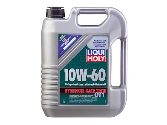 Olej silnikowy syntetyczny Synthoil Race Tech GT1 10W-60 5l 1391 Liqui Moly