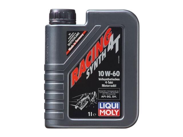 Olej silnikowy syntetyczny Racing Synth 4T 10W-60 1l 1525 Liqui Moly