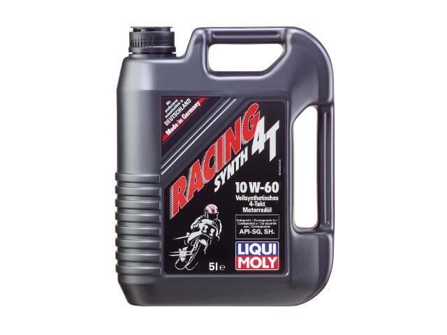 Olej silnikowy syntetyczny Racing Synth 4T 10W-60 5l 1526 Liqui Moly