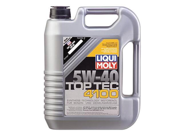 Olej silnikowy syntetyczny Top Tec 4100 5W-40 4l 2195 Liqui Moly