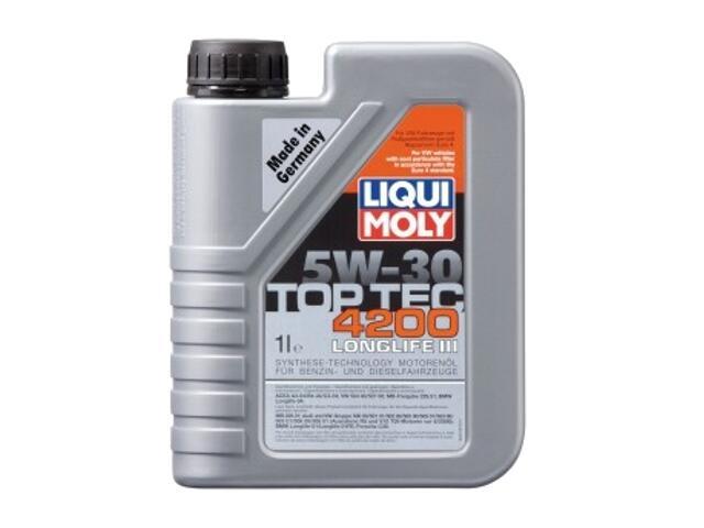 Olej silnikowy syntetyczny Top Tec 4200 5W-30 1l 2691 Liqui Moly