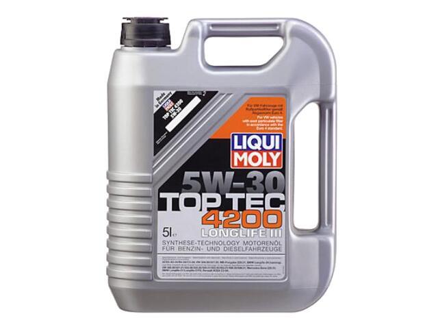 Olej silnikowy syntetyczny Top Tec 4200 5W-30 5l 2693 Liqui Moly