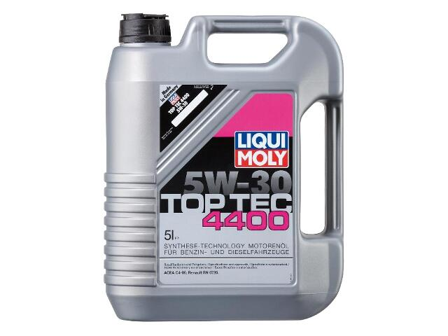 Olej silnikowy syntetyczny Top Tec 4400 5W-30 5l 3751 Liqui Moly