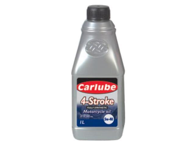 Olej silnikowy syntetyczny Triple R Fully Synthetic 4 Stroke 5W-40 API 1l Carlube