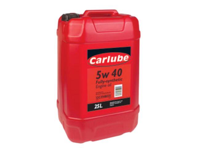 Olej silnikowy syntetyczny Olej 5W-40 TripleR 25l Carlube