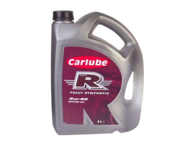 Olej silnikowy syntetyczny Olej 5W-40 TripleR 5l Carlube