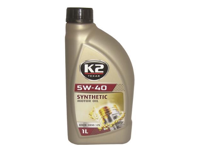 Olej silnikowy syntetyczny K2 TEXAR BDL 5W-40 1l