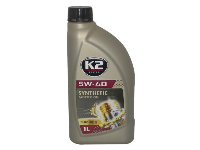 Olej silnikowy syntetyczny K2 TEXAR TD 5W-40 1l