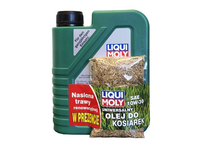 Olej do narzędzi ogrodniczych uniwersalny 10W30 1L + trawa Liqui Moly