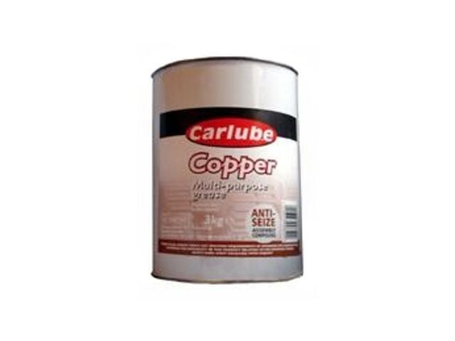 Smar miedziany Multi-purpose Copper Grease Non-melting 3kg Carlube
