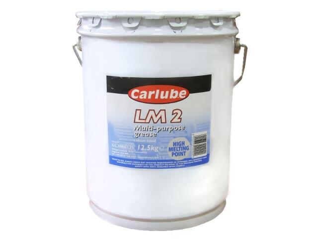 Smar litowy Multipurpose Lithium 2 12,5kg Carlube