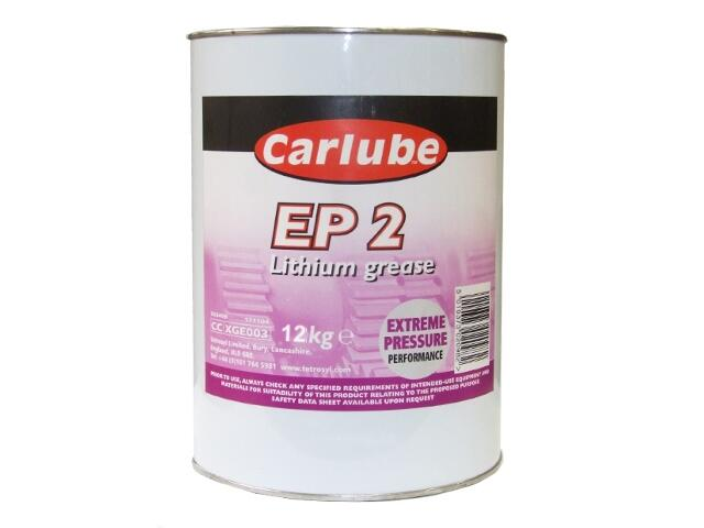Smar litowy EP2 Lithium Grease 12,5kg Carlube