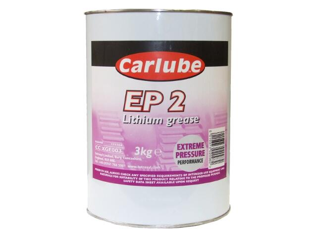 Smar litowy EP2 Lithium Grease 3kg Carlube