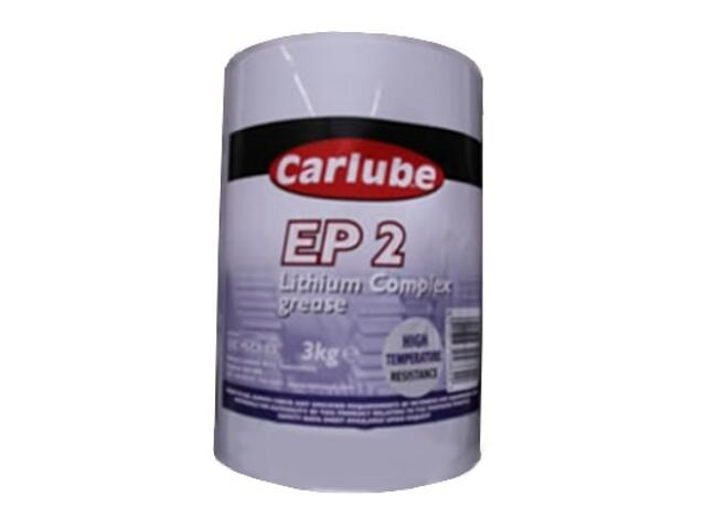 Smar litowy EP2 Lithium Complex 3kg Carlube
